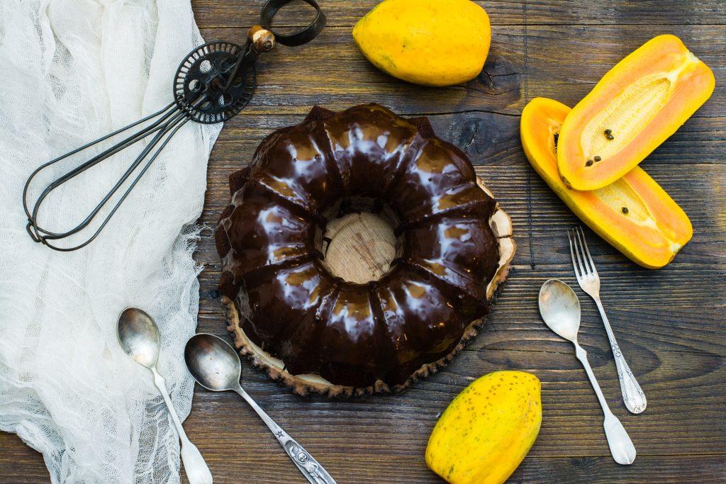 Pastel de chocolate y papaya 1 (1 de 1)_1