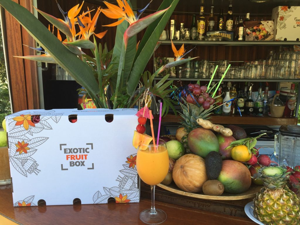cócktail cleopatra realizado con mango