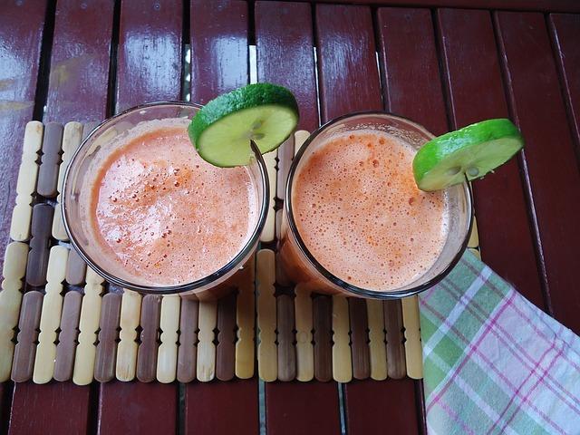 batido de papaya sin lactosa