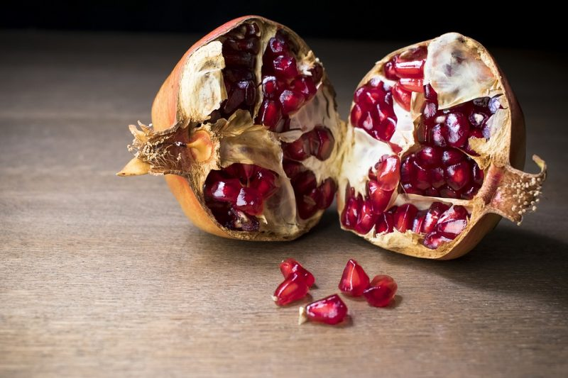 la granada, fruta tropical con elevado poder antioxidante