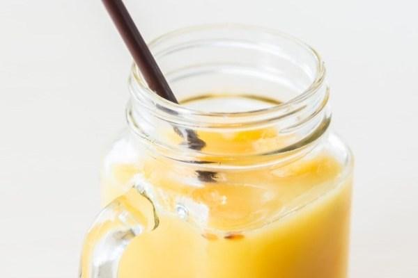 smoothie de maracuyá